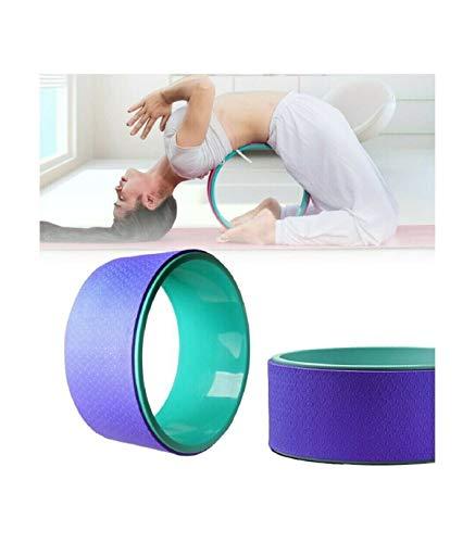 Trade Shop 18403 - Rueda para yoga, círculos, fitness, pilates, gimnasio, entrenamiento