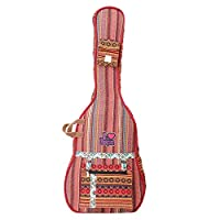 The House Of Tara Handloom Fabric Guitar Case (Multicolor 7) 1