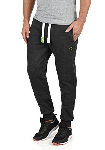 !Solid BennPant Herren Sweatpants Jogginghose Sporthose Mit Fleece-Innenseite Und Kordel Regular Fit, Größe:L, Farbe:Dark Grey Melange (8288)