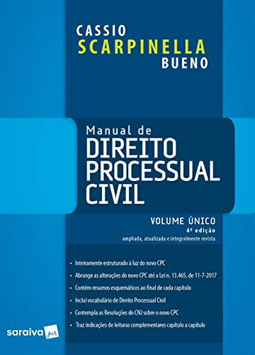 Manual de Direito Processual Civil Volume único