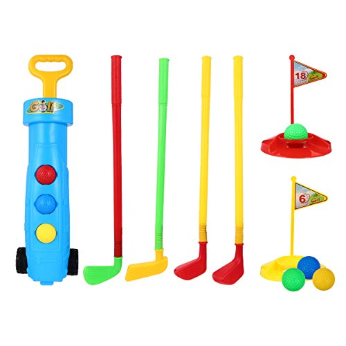 BESPORTBLE 2 Sätze Kinder Golf Spielzeug Sets Golfs Ball Spiel Sets Mini Golfs Spiel Sport Set Zubehör