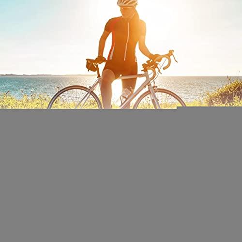 Denkerm Tornillos para calas de Pedales de aleación de Titanio, rectificado Fino Calas de Pedales duraderas y Resistentes Tornillos y Arandelas para calas de Pedales de Bicicleta para Ciclistas
