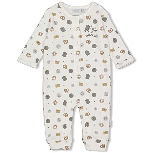 Feetje Baby-Jungen Overall mit Alloverprint Cookies, Natur