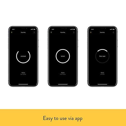 Nuki Smart Lock 2.0 - Apple HomeKit - Amazon Alexa - Google home - IFTTT - Elektronisches Türschloss mit Türsensor - Automatischer Türöffner mit Bluetooth, WLAN - für iPhone und Android - Smart Home - 7