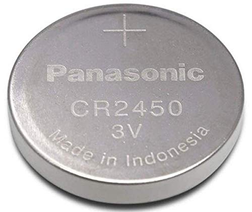 PANASONIC CR2450 Lot de 10 Piles