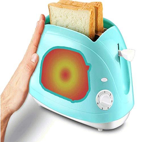 JYDQB Grille-Pain, Machine à Pain Automatique avec sieges sans Gluten, Menu visuel, Tailles Pain, minuteur de délai, de Maintien au Chaud, Vert