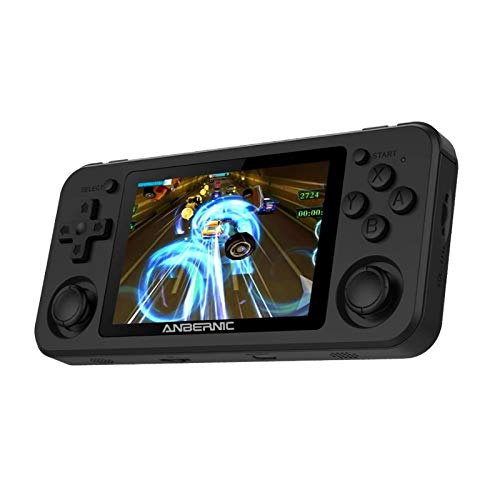 ALLWIN Portable Gaming Player Console RG351P Handheld Game Console 3.5inch IPS Pantalla Grande Juego Retro Máquina electrónica PS1 N64 Pocket Game Player