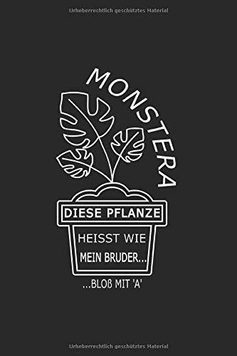 Monstera, diese Pflanze heisst wie mein...