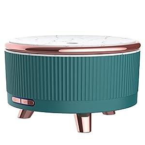 HOCO Humidificador Ultrasònico Difusor 500ml, Funcionamiento ultrasónico de Aroma, Difusor Niebla de aire, Apagado automático función de luz Nocturna, Dormitorio Bebe Yoga Oficina Spa Libre de BPA