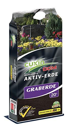Cuxin Graberde 20 L⎜tiefschwarz mit 100 Tage Dünger⎜ohne Farbstoffe