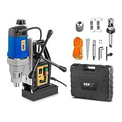 Maszyna wiertnicza MSW Wirownia magnetyczna MSW-MD32-PRO (1380 W, 11 500 N, 600 obr./min, otwory rdzeniowe o średnicy maksymalnej 35 mm, maksymalna głębokość 50 mm, wał Weldon 19 mm)