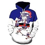2021 Men Women Ugly Winter Christmas Sweater, Funny 87D Print Kangaroo Pocket Sweatshirt Hoodies Pullover for Xmas