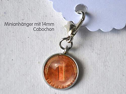 Minianhänger Minicharm Pfennig
