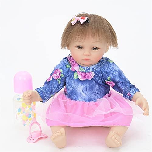 TTHB1 Reborn Baby Doll Realistic 18 Pulgadas 45 cm Body Silicone Silicona Silicona Hecho A Mano Hecho A Mano Hecho A Mano Que Parecen Life Real Vida Nuevo NIÑO Juguetes DE NIÑOS Regalos DE CUMPLEAÑOS