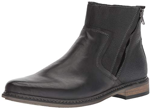 Steve Madden Men's TACKLED Ankle Boot, Dark Grey, 11 M US