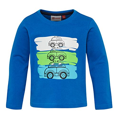 Lego Wear Duplo Boy Terrence 327-Langarmshirt T-Shirt À Manches Longues, Bleu (Blue 563), 95 (Taille Fabricant: 80) Bébé garçon