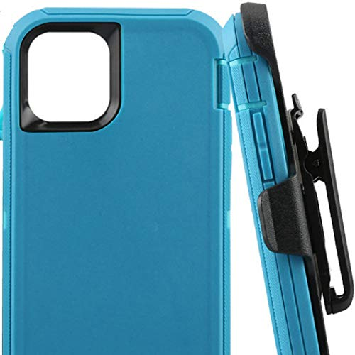 Defender Case for iPhone 11(6.1 Inch),[NO Screen Protector][Heavy Duty][Drop Protection] Tough Case Multiple Layers - Teal