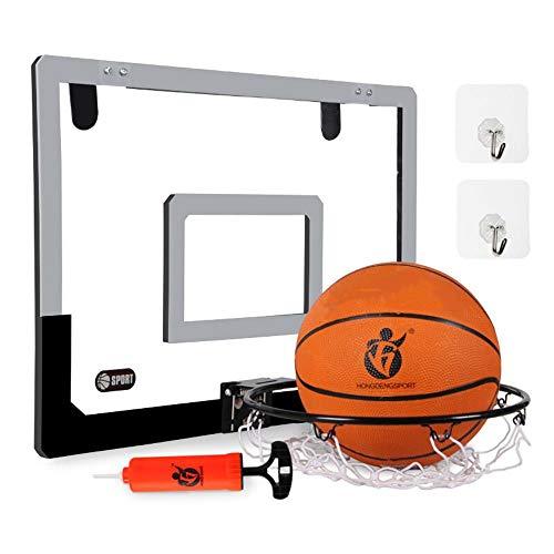 SUON Hängend Basketball-Ständer Kind Basketballkorb An Der Wand Montiert Mit Ball Und Pumpe Basketball-Korb Outdoor-Bewegung 2 Möglichkeiten Zum Aufhängen