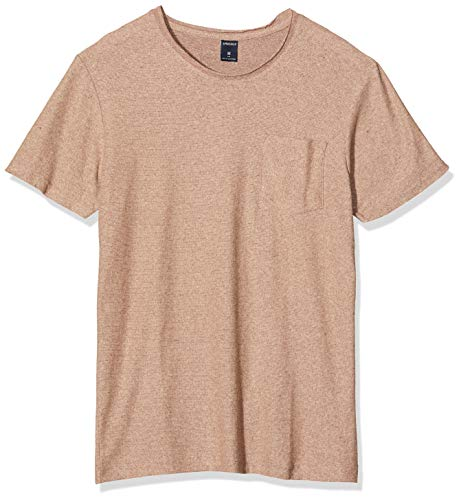 Springfield 4Av Textured Siro Jersey Camiseta, Rojo (Red 69), X-Small (Tamaño del Fabricante: XS) para Hombre