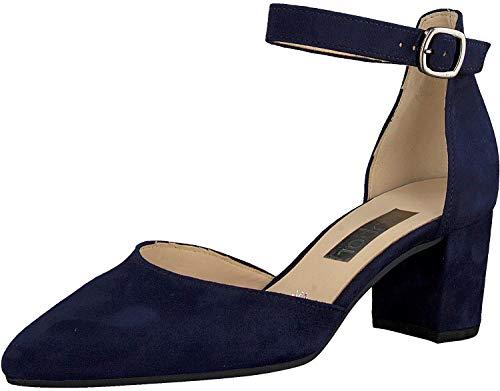 Gabor Gala Womens Open Court Shoes 38.5 Bluette Suede