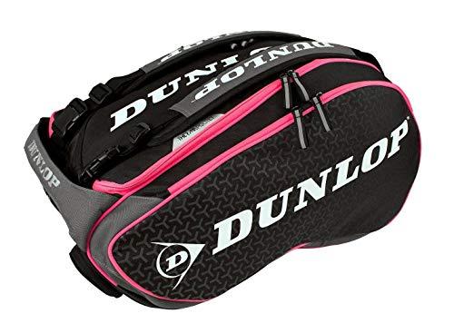 Dunlop Paletero Elite negro rosa