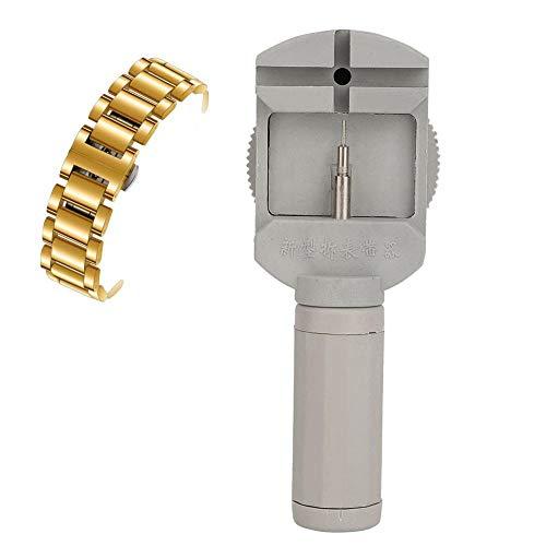 Herramienta de reparación de relojes para reloj correa removedor de enlace y ajustador