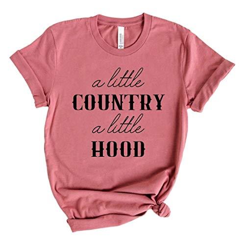Country Shirt Hood T-Shirt