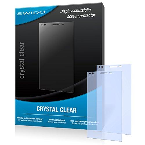 SWIDO Bildschirmschutz für ZTE Blade Vec 4G [4 Stück] Kristall-Klar, Hoher Festigkeitgrad, Schutz vor Öl, Staub & Kratzer/Schutzfolie, Bildschirmschutzfolie, Panzerglas Folie