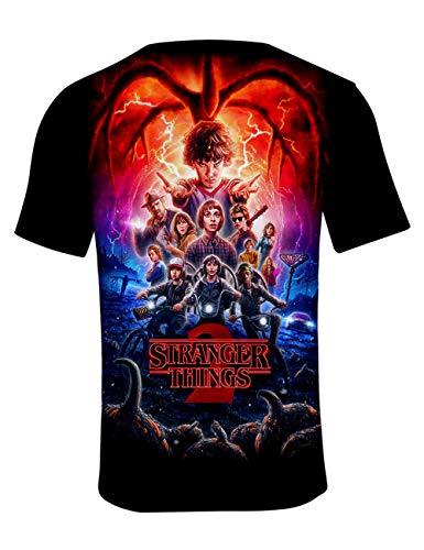 Camiseta Stranger Things Hombre, Camiseta Stranger Things Te