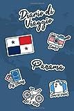 Diario di Viaggio Panama: Diario di viaggio da compilare | 106 pagine, 15,24 cm x 22,86 cm | Per accompagnarvi durante il vostro soggiorno
