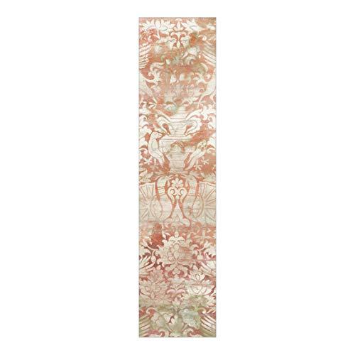 Bilderwelten Cortina Deslizable Impresa Panel Japonés Ornament Tissue II Montaje de Pared 250 x 60cm