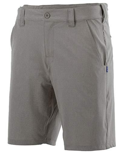HUK Herren H2000059-010, Herren, Beacon Short, Iron Color, XL Size, H2000059-010-XL, Stahl, X-Large