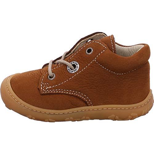 RICOSTA Pepino Unisex - Kinder Stiefel Cory, WMS: Weit, Leder Kind-er Kids junior Kleinkind-er Kinder-Schuhe Klett-Schuhe,Curry,21 EU / 5 UK