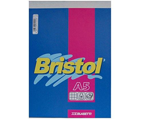 Blasetti Bristol - Blocco punto metallico A5 - 15 x 21 cm, Confezione da 10 unità