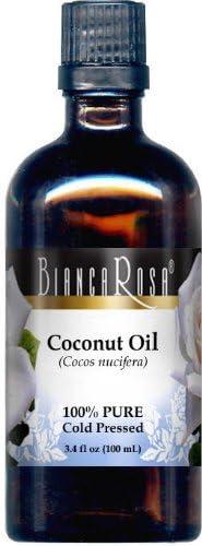Coconut Oil - 100% Pure, Cold Pressed (3.40 fl oz, ZIN: 428132)