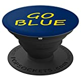 Michigan Go Blue PopSockets Grip and Stand for Phones and Tablets
