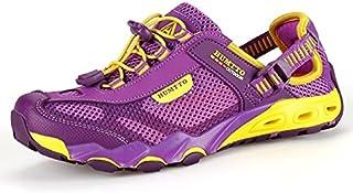 أحذية Upstream - أحذية للرجال لرحلات المشي لمسافات طويلة في الهواء الطلق أحذية رياضية للنساء مبطنة مائية أحذية رياضية شبكي...