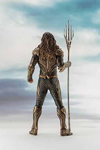 Kotobukiya 96208 - Figura de Justice League Movie Aquaman Artfx, 19 cm 2