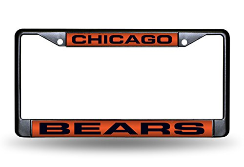 Chicago Bears Laser License Plate - 1