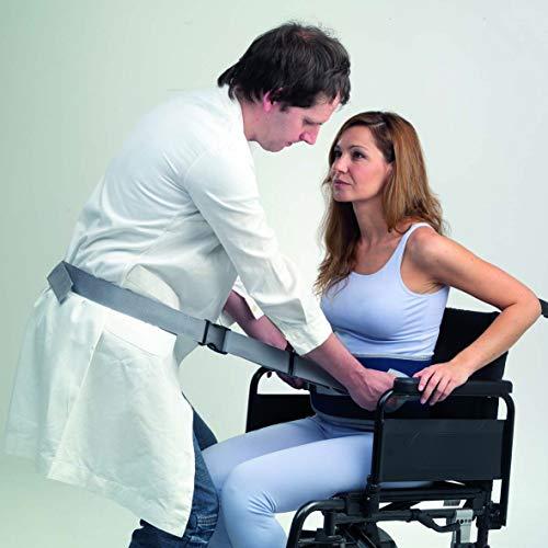 Adiggy Medical | Cinturón de Transferencia Ancianos con 4 asas | 2 tallas según contorno (Talla L)