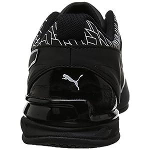 PUMA Men's Tazon 6 Fracture FM Sneaker, Black, 12 M US