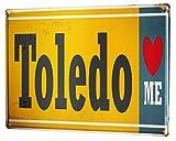 Li6454e Tin Sign City Toledo Poster for Home Signs Metal