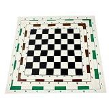 YANGDIAN ajedrez Viaje Tablero De Ajedrez Torneo De Vinilo para Juegos Educativos para Niños Tablero Magnético De Color Aleatorio para Ajedrez