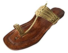 Material: Leather Lifestyle: Ethnic and Traditional Heel Type: Flat, Heel Height: No Heel Care Instructions: Do not use Polish or Shiner.
