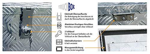 Truckbox D050 Werkzeugkasten, Deichselbox, Transportbox, Alubox, Alukoffer - 3