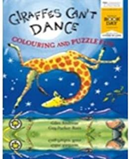 Giraffes Can`t Dance Colouring and Puzzle Fun World Book Day 2013 COPY PACK EXPORT