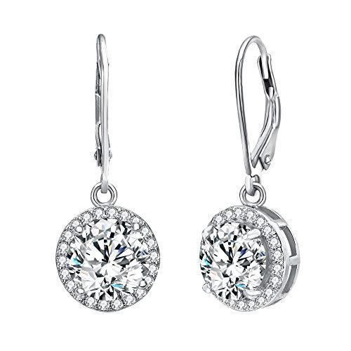 Elegant Round Dangling Earrings - 1