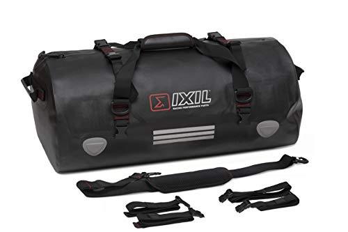 Bolsa Impermeable IXIL para Motocicleta, con Cremallera estanca, Capacidad 50 litros,