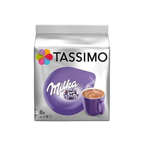 Tassimo Milka-Schokolade (8 Portionen) (Packung mit 6)