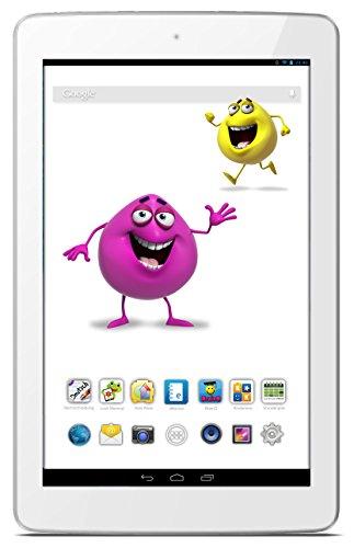 Odys Junior Tab 8 Pro 20,3cm (8 Zoll) Tablet-PC (MTK 8127 1,3 GHz Quad Core, 1 RAM, 8GB HDD, Android 4.4, BT 4.0 HD IPS Bildschirm (1280 x 800) inkl. Elternkontrolle, Kindersicherung, Content) weiß